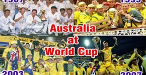 Australia are the most successful team in World Cup history, having won the tournament on four previous occasion in 1987,1999, 2003 and 2007