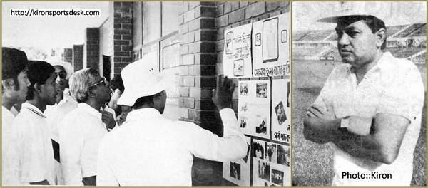 ...জাতীয় ক্রিকেট দলের খ্যাতিমান কোচ মরহুম বজলুর রশিদ ভাইয়ের ছবি প্রর্দশনী...
